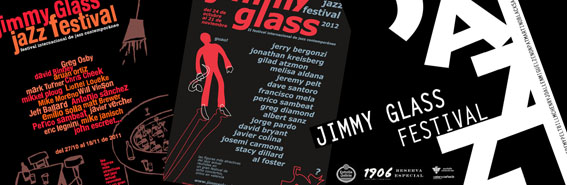 Mix carteles Festival Jazz Contemporáneo del Jimmy Glass
