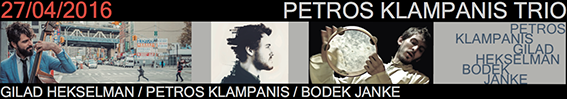 Banner Petros Klampanis V Ciclo Jazz Primavera Jimmy Glass