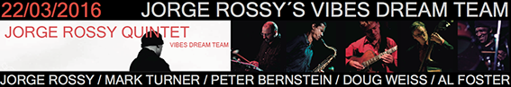 Banner Rossy Vibes V Ciclo Jazz Primavera Jimmy Glass