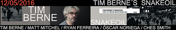 Banner Tim Berne V Ciclo Jazz Primavera Jimmy Glass