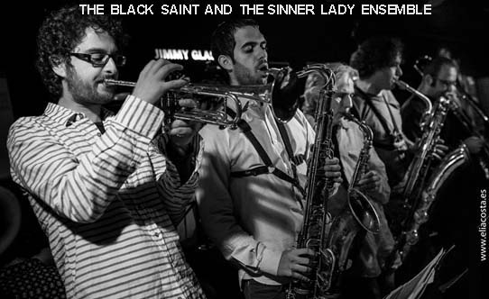 Mingus ensemble Black Saint at Jimmy Glass Elia Costa Photography