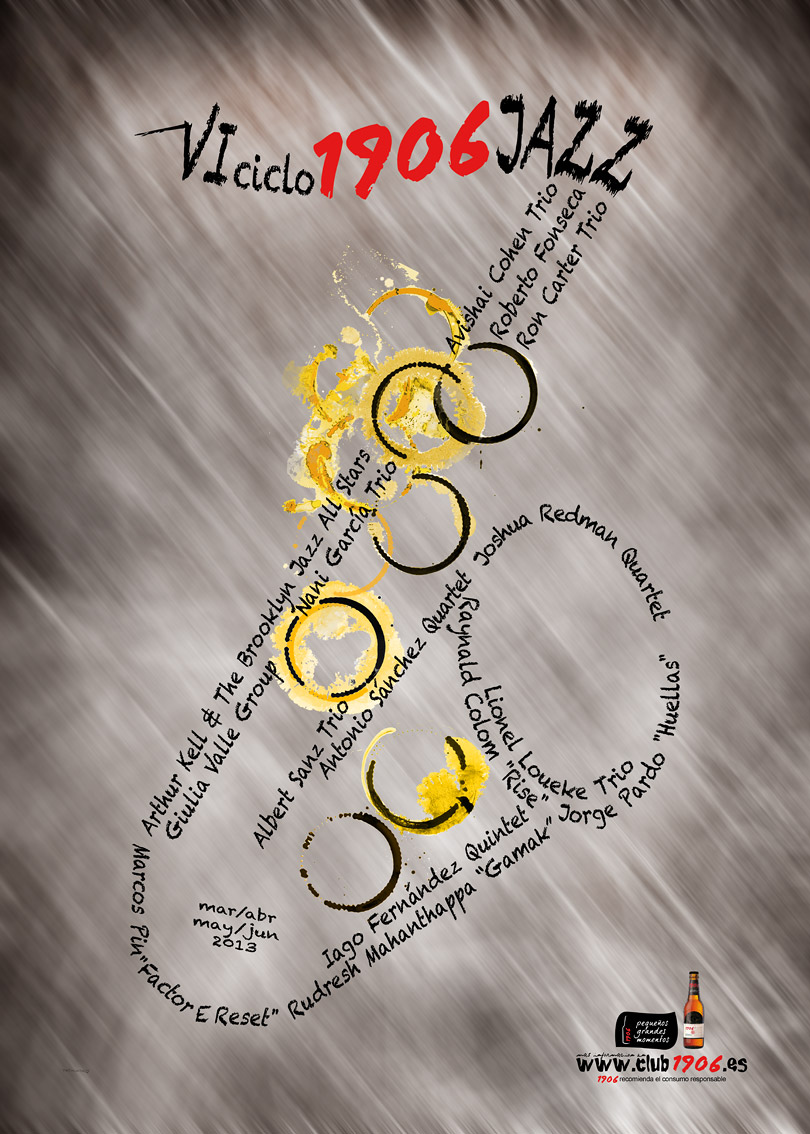 Cartel 6 ciclo 1906 jazz