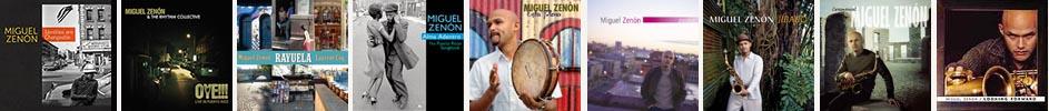 portadas discos Miguel Zenón