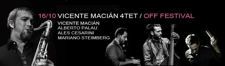 Vicente Macián Quartet
