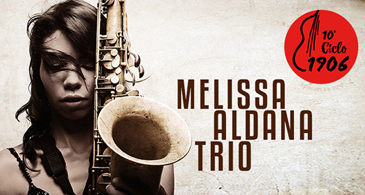 4 abril Melissa Aldana Trio en Jimmy Glass