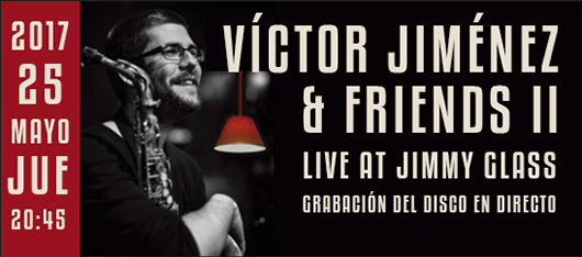 banner víctor jiménez & friends live at jimmy glass