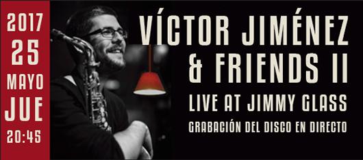 banner víctor jiménez & friends live at jimmy glass