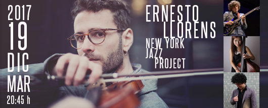 19 dic Ernesto Llorens NY project