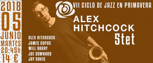 5 de junio alex hitchcock 5tet ciclo primacera