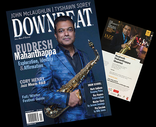 rudresh mahanthappa downbeat web