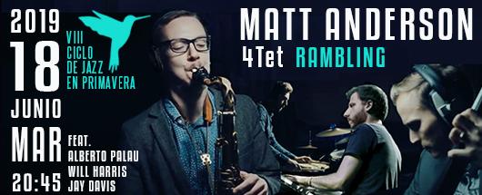 18 junio Matt Anderson