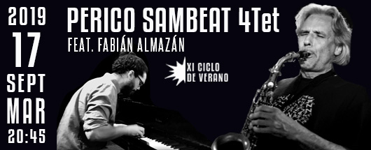 17 sept. Perico Sambeat