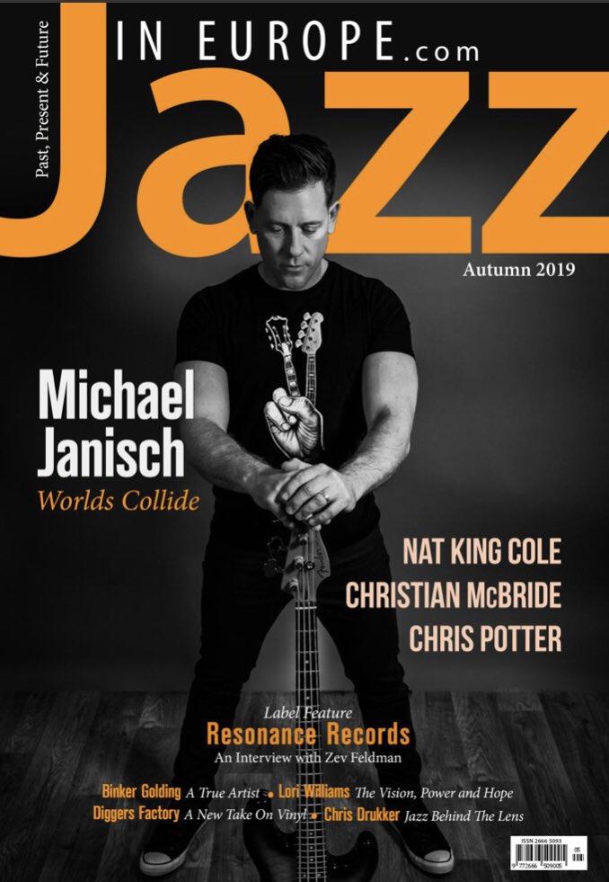 Portada Jazz in Europe
