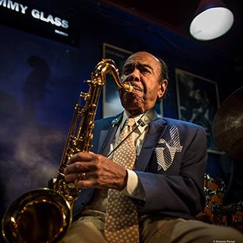 Benny Golson at Jimmy Glass fotoAntonioPorcar