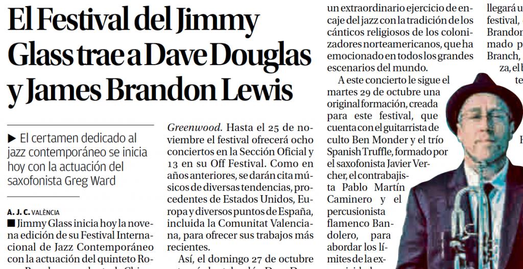 Captura Levante IX Festival Jimmy Glass