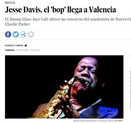 El País Jesse Davis en Jimmy Glass