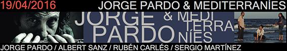 Banner Pardo V Ciclo Jazz Primavera Jimmy Glass