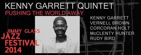 Carátula Kenny Garrett en IV Jimmy Glass Jazz Festival