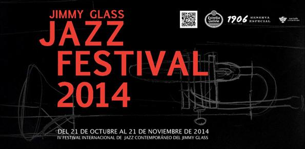 Carátula IV Festival de Jazz Contemporáneo del Jimmy Glass