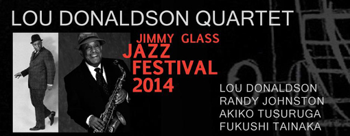 Carátula Lou Donaldson en IV Jimmy Glass Jazz Festival