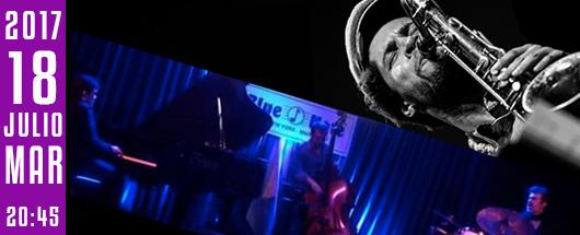 18 jul blue note trio & ariel Brínguez en jimmy glass