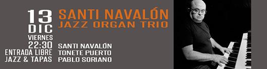 13 dic navalón organ trio